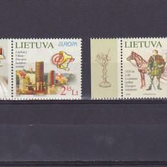 CEPT, transport postal, cai, Lituania. - Timbre straine, Nestampilat