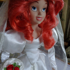 Papusa Disney Ariel mireasa