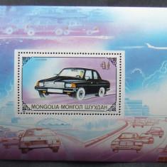 MONGOLIA - MASINI, 1 S/S NEOBLITERATA - MG 337