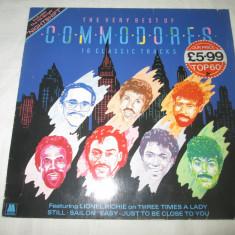 Commodores – The Very Best Of Commodores _ vinyl, LP, UK - Muzica R&B Altele, VINIL