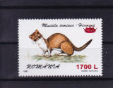 ROMANIA 2000,   LP 1505 , FAUNA 97 SUPRATIPAR COROANA ,  MNH, Nestampilat
