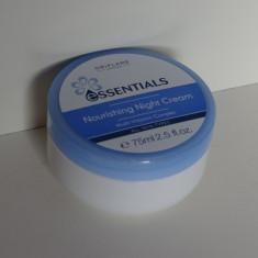 Crema hranitoare de noapte Essentials 75 ml- Produs NOU ORIGINAL Oriflame