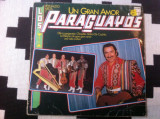 Reynaldo Meza Y Los Paraguayos Un Gran Amor disc vinyl lp muzica latino philips, VINIL