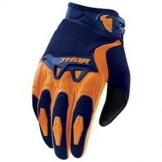 MXE Manusi motocross copii Thor Spectrum culoare Bleumarin/Portocaliu Cod Produs: 33320987PE