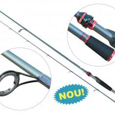 Lanseta fibra de carbon Baracuda Zander Fest Actiune 7-21 grame Pentru Salau, Lansete Spinning