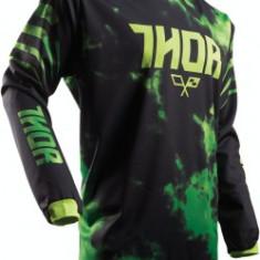 MXE Tricou motocross copii Thor Pulse Tydy culoare Lamai/Negru Cod Produs: 29121438PE - Imbracaminte moto