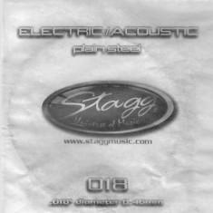 Coarda chitara electrica/acustica Stagg PLS-018 - Corzi Chitara