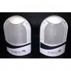 Lampa de veghe cu senzor de lumina lampa veghe copii cu senzor, Alb