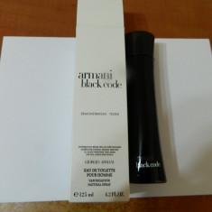 PARFUM TESTER ARMANI BLACK CODE -- 125 ML ---SUPER PRET, SUPER CAL! - Parfum barbati Armani, Apa de toaleta