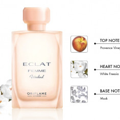 ECLAT FEMME WEEKEND Oriflame 50 ML + spray cadou - Parfum femeie Oriflame, Apa de toaleta