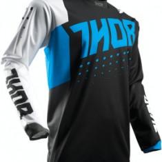MXE Tricou motocross copii Thor Pulse Aktiv Albastru/Negru Cod Produs: 29121426PE - Imbracaminte moto
