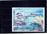 Sao Tome e Principe - dolphins, Natura, Stampilat