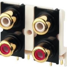 Conector cablu RCA Monacor T-740G - Cablu Camera Video