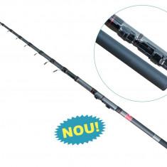 Lanseta fibra de carbon Baracuda Vogue 4 metri Pentru ape curgatoare Rau, Lansete Spinning