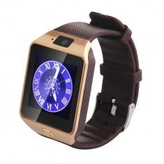 Smart-Watch GSM DZ09 - Auriu - Camera Video Actiune