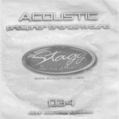 Coarda chitara acustica Stagg PBW-038 - Corzi Chitara