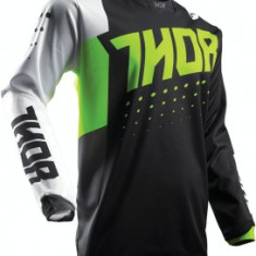 MXE Tricou motocross copii Thor Pulse Aktiv Lamai/Negru Cod Produs: 29121420PE - Imbracaminte moto