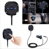 Car Kit Bluetooth 4.0 Wireless Music Receiver 3.5mm Handsfree AUX + incaracator - Pachete car audio auto