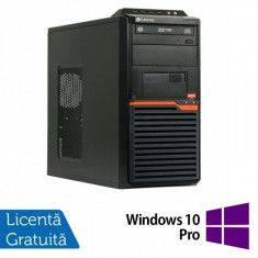 Calculatoare Gateway DT55, AMD Athlon II X2 250 3.0 Ghz, 4Gb DDR2, 320Gb, DVD-RW + Windows 10 Pro - Sisteme desktop fara monitor