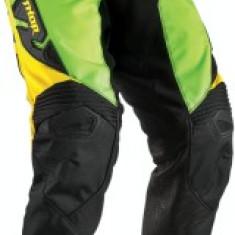 MXE Pantaloni motocross copii Thor Fuse Dazz culoare Verde fluorescent/Galben Cod Produs: 29031407PE - Imbracaminte moto