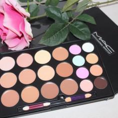 Trusa machiaj Corector, Anticearcan, Concealer paleta corectoare 20 culori MAC, Mac Cosmetics
