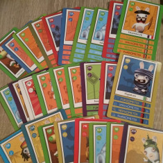 Colectie 28 cartonase de joc Ubisoft Raving Rabbids (in limba germana) - Cartonas de colectie