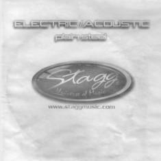 Coarda chitara electrica Stagg NIW-024 - Corzi Chitara