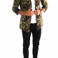 Geaca tip ZARA army - camuflaj - Geaca barbati - COLECTIE NOUA 7014, Marime: M/L, Culoare: Din imagine