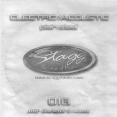 Coarda chitara electrica/acustica Stagg PLS-011 - Corzi Chitara