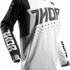 MXE Tricou motocross copii Thor Pulse Aktiv Alb/Negru Cod Produs: 29121396PE - Imbracaminte moto