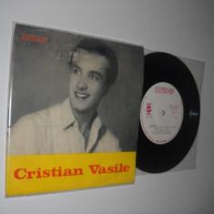 CRISTIAN VASILE:Zaraza/Pe Cer S-a Stins O Singura Stea(EDC 706)(1967)(disc mic) - Muzica Pop electrecord, VINIL