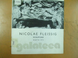 Nicolae Fleissig sculptura catalog expozitie Bucuresti 1975 Galateea