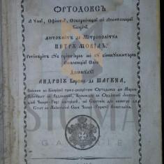 PETRU MOVILA - MARTURISIREA ORTODOXA, 1855 - Carti Istoria bisericii