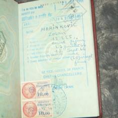 Pasaport vechi - SFR Iugoslavia (fara foto principala) - 2+1 gratis - RBK17964 - Pasaport/Document