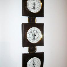 Ansamblu Marinaresc, Barometru Termometru Si Higrometru, Germania - Pendula