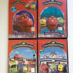 Chuggington - Colectie 4 DVD-uri Desene Animate Dublate Romana - Film animatie disney pictures