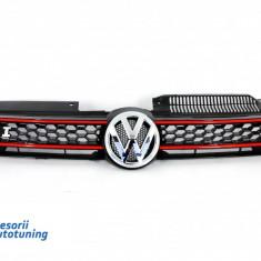 Grila Centrala Volkswagen VW Golf 6 VI 2008-2012 GTI Design - Grile Tuning