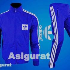TRENING ADIDAS. Model NOU! - Trening barbati Adidas, Marime: S, Culoare: Albastru, Microfibra