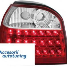 Stopuri LED VW Golf III 91-98 rosu/cristal - Stopuri tuning