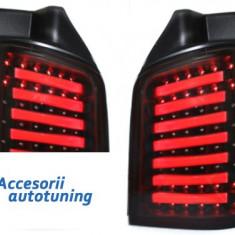 Stopuri LED VW T5 03-12/09 LED indicator negru / fumuriu- - Stopuri tuning