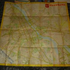 Harta veche Varsovia - Polonia - 2+1 gratis - RBK17946