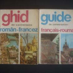 GHID DE CONVERSATIE ROMAN FRANCEZ SI FRANCEZ ROMAN 2 volume - Curs Limba Franceza Altele