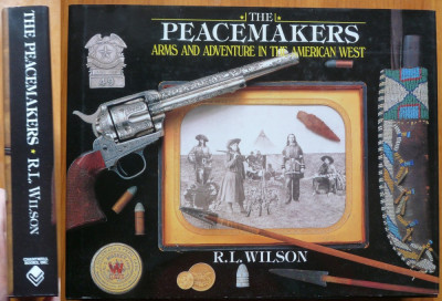 Wilson , Arme si aventura in vestul american , 2004 , album arme foto