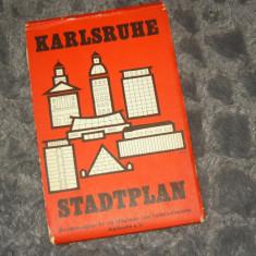 Harta veche Karlsruhe - Germania - 2+1 gratis - RBK17947