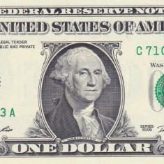 Bancnota Statele Unite ale Americii 1 Dolar 2009 - P530 UNC ( C = Philadelphia ) - bancnota america