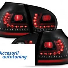 Stopuri LITEC LED VW Golf V 03-09 negru - Stopuri tuning