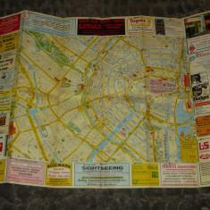 Harta veche Amsterdam - Olanda - 2+1 gratis - RBK17951