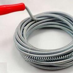 Sarpe pentru desfundat tevi sau canalizari 15 metri 7.5mm diametru