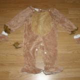 Costum carnaval serbare animal leu pentru copii de 1-2 ani - Costum Halloween, Marime: Masura unica, Culoare: Din imagine