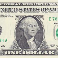 Bancnota Statele Unite ale Americii 1 Dolar 2009 - P530 UNC ( E = Richmond ) - bancnota america